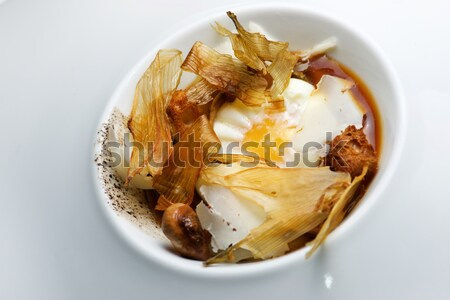 Egg with onions Stock photo © pedrosala