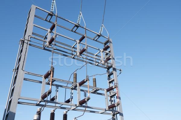 electrical substation Stock photo © pedrosala