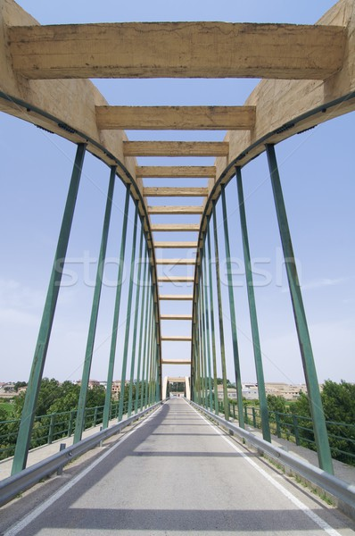 concrete suspension bridge Stock photo © pedrosala