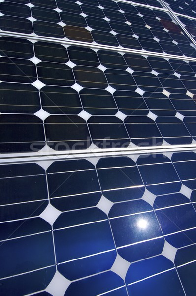 detail of a photovoltaic panel Stock photo © pedrosala