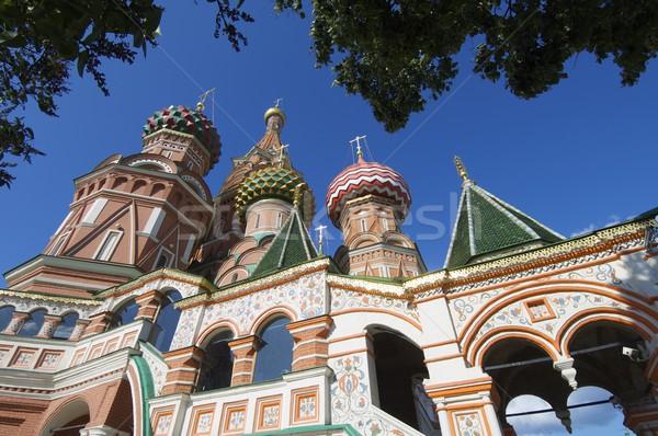 Szent bazsalikom katedrális Moszkva Vörös tér Oroszország Stock fotó © pedrosala