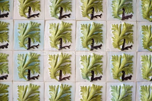 Tiled wall Stock photo © pedrosala