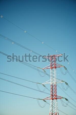 Wooden pylon Stock photo © pedrosala