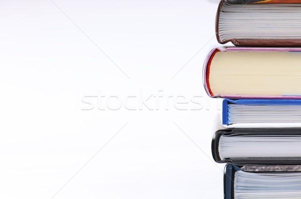 Kitaplar grup kitap okul eğitim Stok fotoğraf © pedrosala