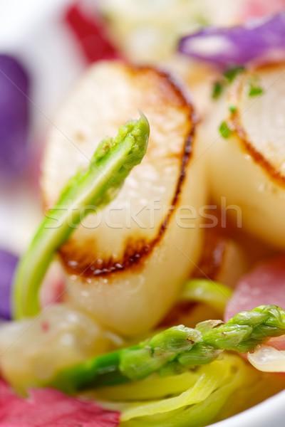 Meduza étel hal tenger étterem vacsora Stock fotó © pedrosala