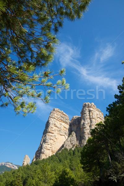 Masmut Rocks view Stock photo © pedrosala