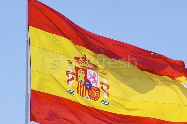 Spanje spaanse vlag texturen bal Stockfoto © pedrosala