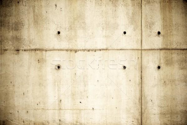 Beton bruin hoog textuur muur Stockfoto © pedrosala