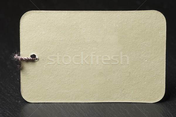 label Stock photo © pedrosala