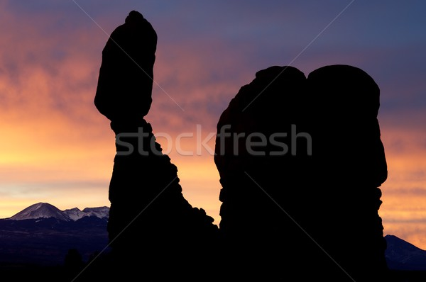 Stock photo: Balanced Rock