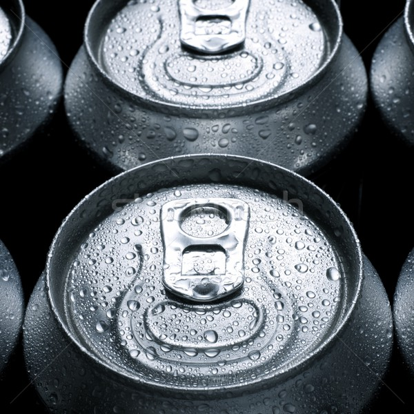 ソーダ グループ アルミ することができます 金属 ドリンク ストックフォト © pedrosala