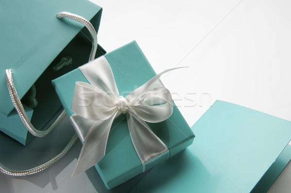 luxury gift Stock photo © pedrosala