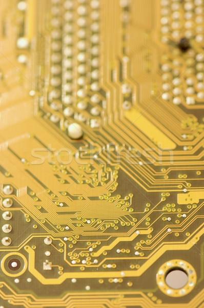 electronic circuit board Stock photo © pedrosala