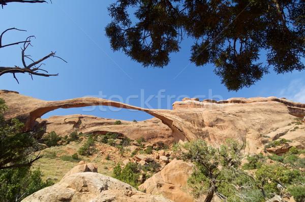 парка рок Юта Соединенные Штаты небе природы Сток-фото © pedrosala