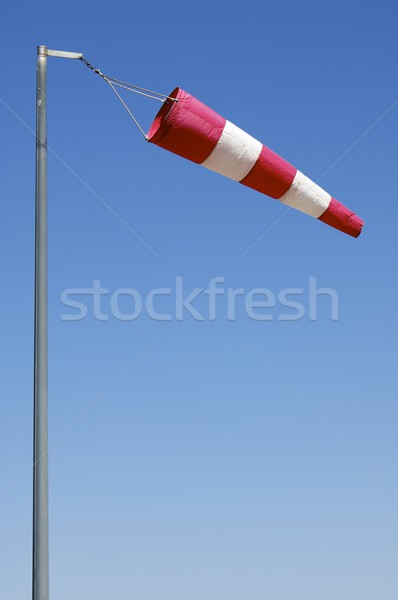 Rüzgâr kol manga uçan mavi gökyüzü moda Stok fotoğraf © pedrosala