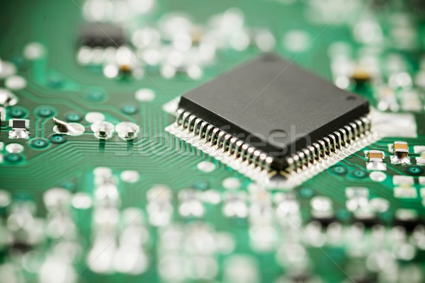 Geïntegreerd circuit chip wetenschap industriële Stockfoto © pedrosala