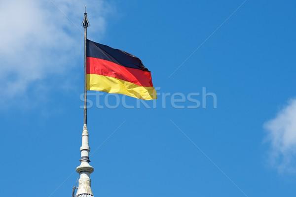 German national flag Stock photo © pedrosala
