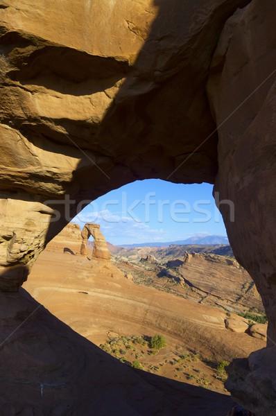 арки парка Юта Соединенные Штаты пейзаж пустыне Сток-фото © pedrosala