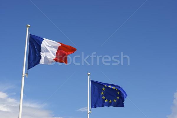 European Union and France Stock photo © pedrosala