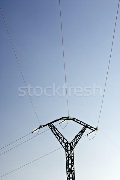 Pylon silhouette Stock photo © pedrosala