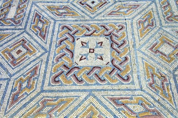 Foto stock: Mosaico · geométrico · formas · romana · ruinas · Portugal