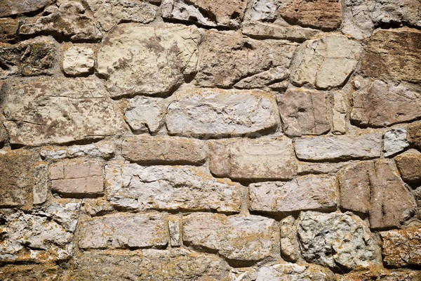 Stok fotoğraf: Duvar · taş · duvar · yüksek · karar · doku · soyut