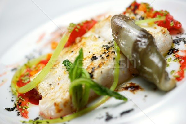 Conger with vegetables Stock photo © pedrosala