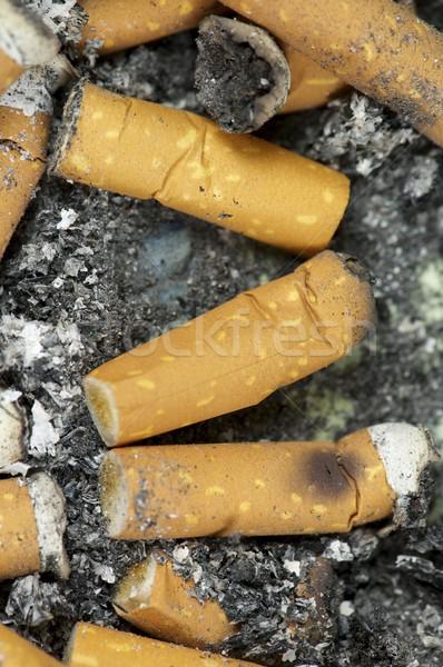Sigaret hart gezondheid dood Stockfoto © pedrosala