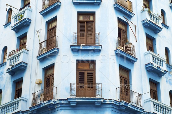 ハバナ コロニアル 家 キューバ テクスチャ 市 ストックフォト © pedrosala