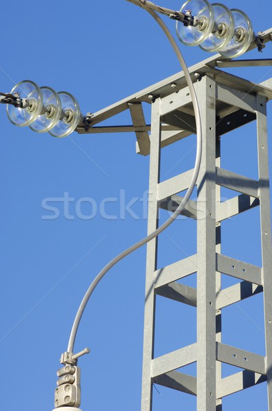 Pylon view Stock photo © pedrosala
