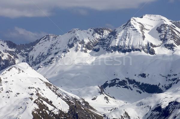 Stock photo: Sabocos peak