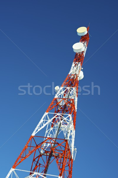 Telecommunications tower Stock photo © pedrosala