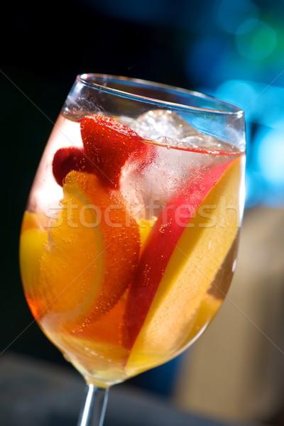 Fruto coquetel festa maçã verão Foto stock © pedrosala