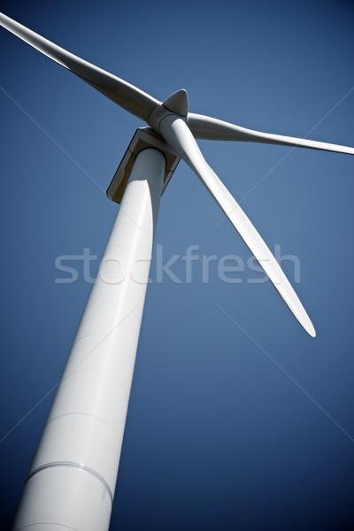 Vento energia mulino a vento elettrici potere produzione Foto d'archivio © pedrosala