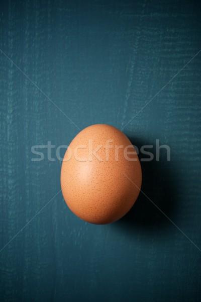 Uovo primo piano verde alimentare sfondo Foto d'archivio © pedrosala