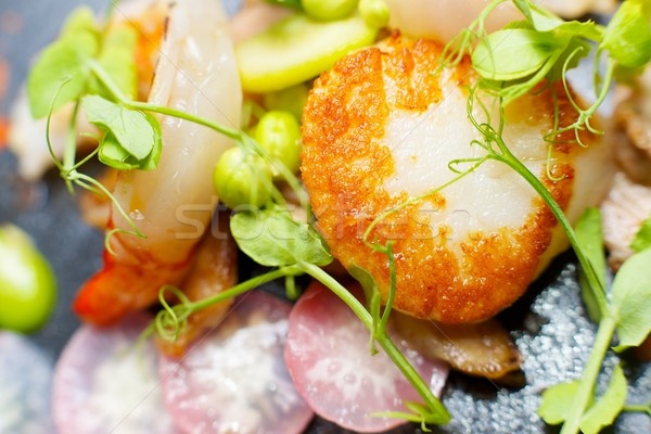 поросенок продовольствие рыбы кухне ресторан Сток-фото © pedrosala