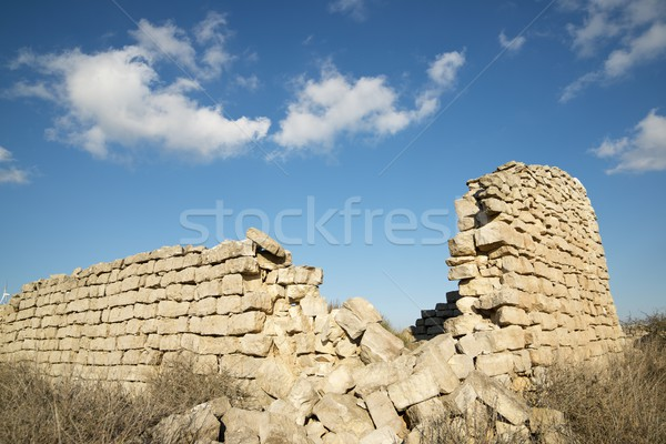 Rural building ruin Stock photo © pedrosala