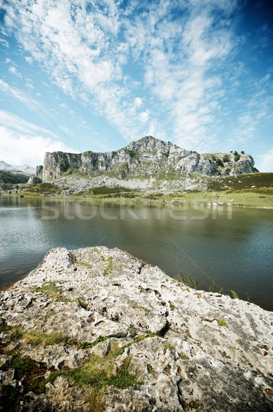 Covadonga Stock photo © pedrosala