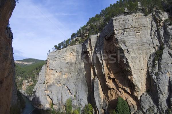 narrow valley Stock photo © pedrosala