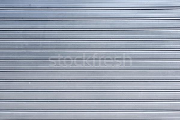 Metaal blinde hoog donkere behang Stockfoto © pedrosala