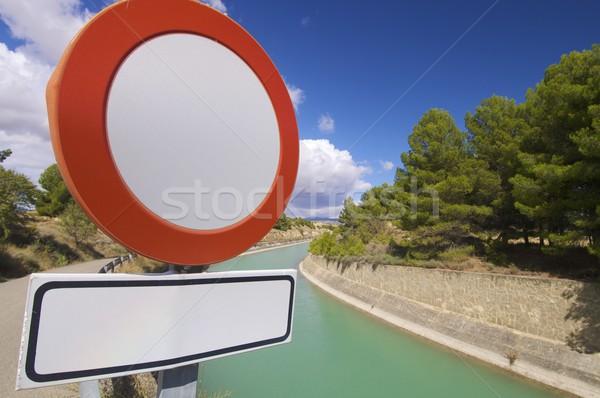 forbidden to drive vehicles Stock photo © pedrosala