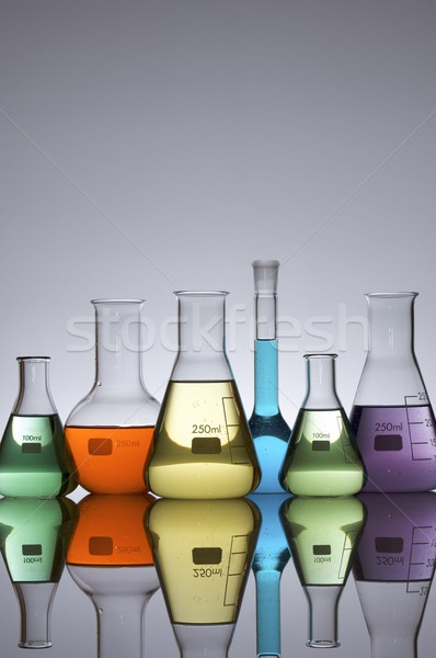 laboratory glassware Stock photo © pedrosala