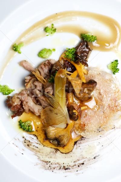 子羊 焼き 野菜 食品 ディナー 現代 ストックフォト © pedrosala