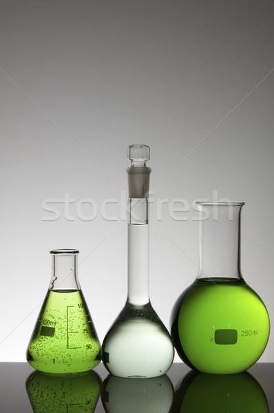 Stock photo: flasks