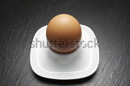 卵 クローズアップ ブラウン 表 食品 背景 ストックフォト © pedrosala
