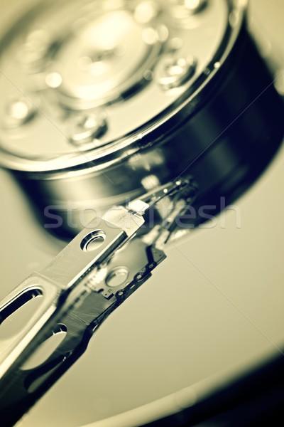 Ouvrir ordinateur disque dur portable Photo stock © pedrosala