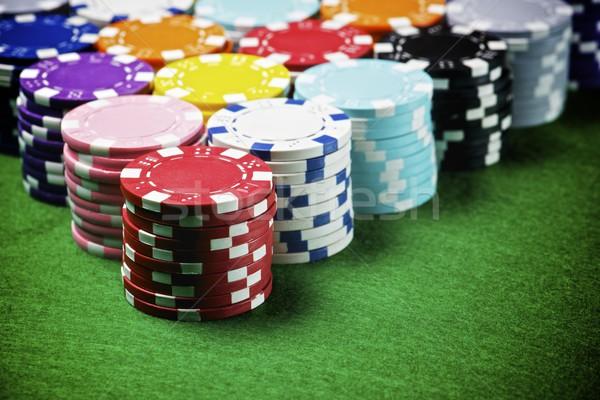 казино мнение таблице зеленый успех Сток-фото © pedrosala