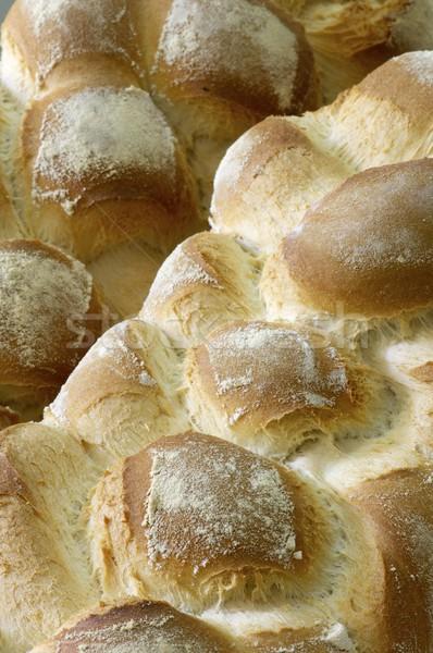 Bochenek pierwszy plan streszczenie śniadanie jeść nasion Zdjęcia stock © pedrosala