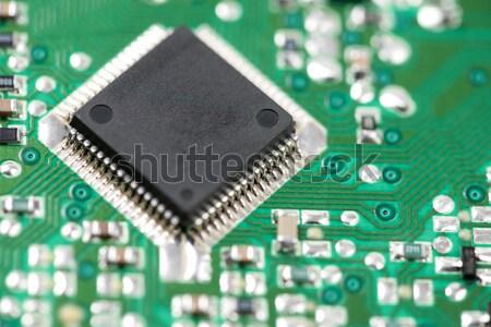 統合された 回路 クローズアップ チップ 科学 産業 ストックフォト © pedrosala