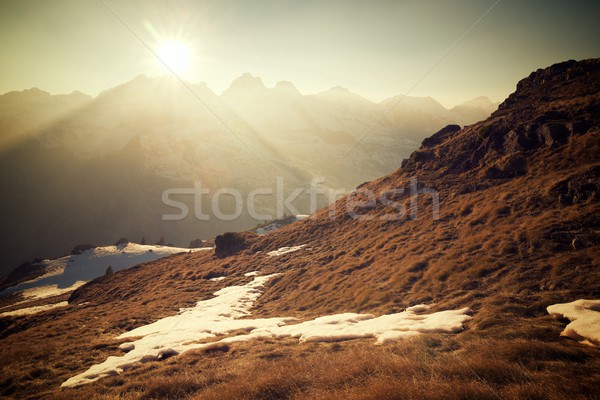 Stock photo: Pyrenees in Spain